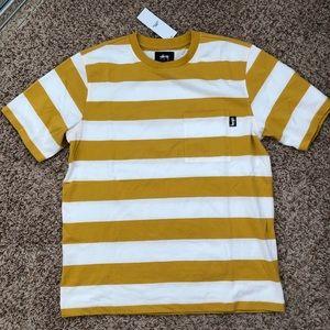Stüssy stripe vintage tee shirt
